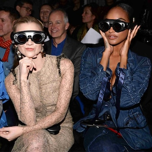 Natalie Dormer, Jourdan Dunn, London Fashion Week